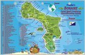 Franko Maps Fish Card Bonaire Dive Sites & Fish ID Card / Coral Reef Creatures