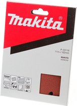 Makita Schuurvel K100 114x102 Red