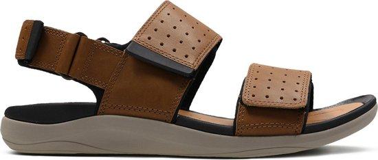 Clarks - Herenschoenen - Garratt Active - G - tan leather - maat 9,5