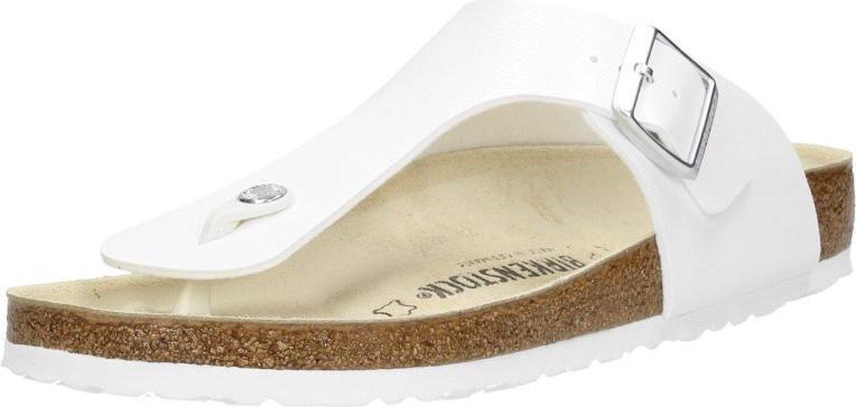 Birkenstock Ramses Normaal Heren Slippers - White  - Maat 46 - Birkenstock