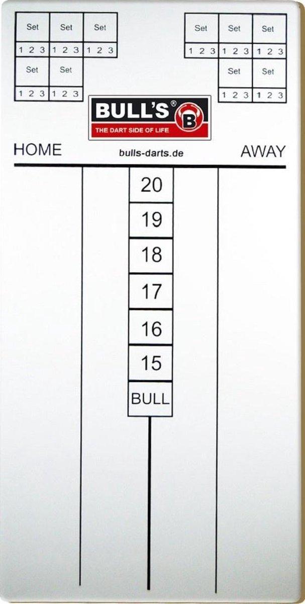 Bull's Darts Scorebord Met Stift 60 Cm