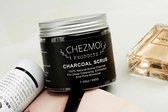 Charcoal Scrub | Gezicht en Lichaam| Natuurlijk Houtskool| 100% Natuurlijke ingrediënten |