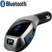 X5 MP3 Bluetooth Adapter Carkit / Handsfree bellen in de auto / Wireless Bluetooth FM Transmitter Radio Adapter Car Kit Met USB Fast-Charging, SD Kaart Poort