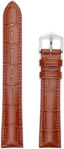 Hirsh Horlogeband Duke Honing - Leer - 22mm