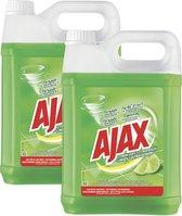 Ajax Allesreiniger Limoen 2 x 5L - Voordeelverpakking