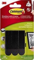 Command Fotolijststrips 17201BLK - Zwart - Medium 4x2 strips - 5,4kg