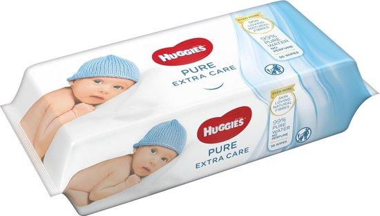 Huggies billendoekjes - Pure Extra Care 56 x 8 stuks