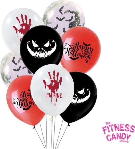 Halloween Ballonnen - Set van 6 Unieke ballonnen - ENG