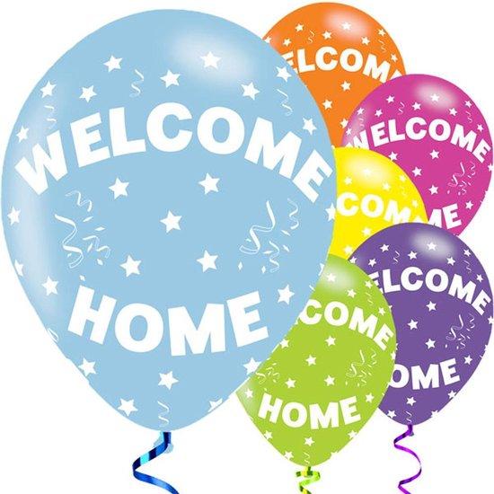 Ballonnen - Welcome Home Ster - 6 stuks
