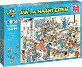 Jan van Haasteren Junior Het Klaslokaal puzzel - 360 stukjes - Kinderpuzzel