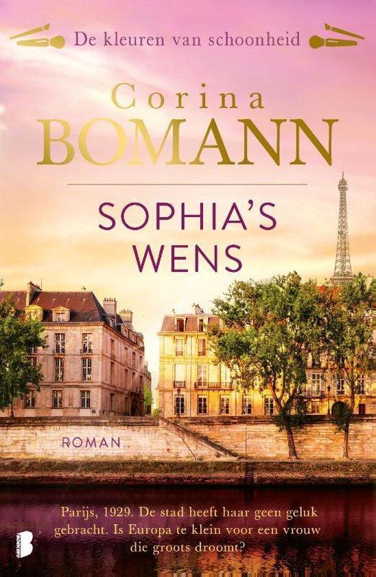 Boek cover De kleuren van schoonheid 2 -   Sophias wens van Corina Bomann (Paperback)