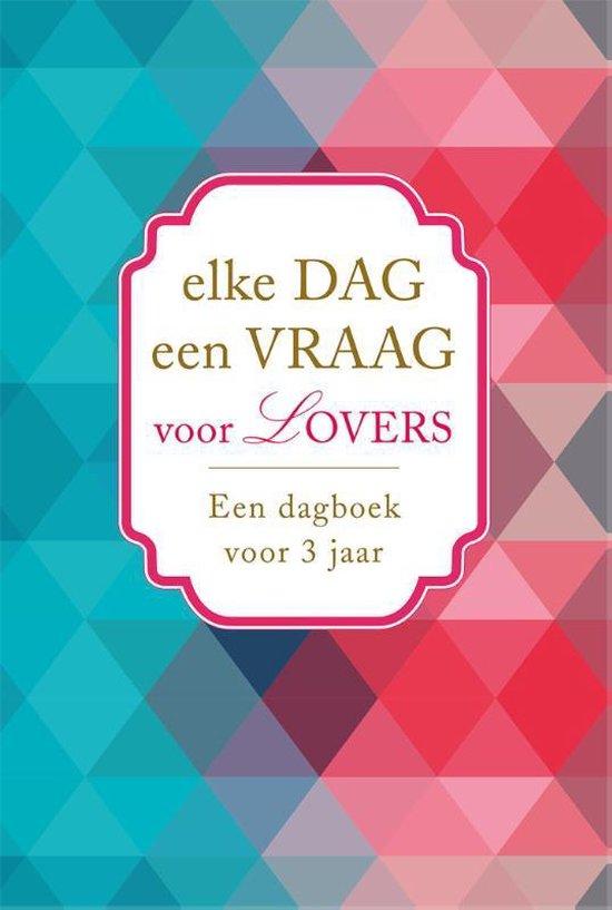 Boek cover Elke dag een vraag voor lovers van Diverse auteurs