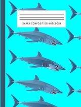 Shark Composition Notebook