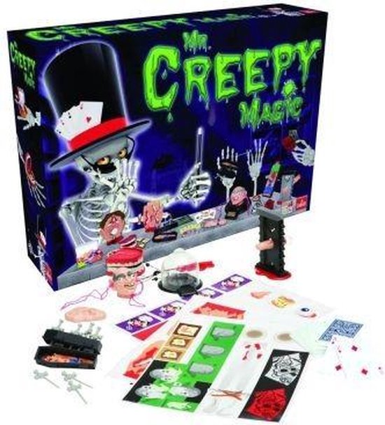 Mr. Creepy Magic Goocheldoos
