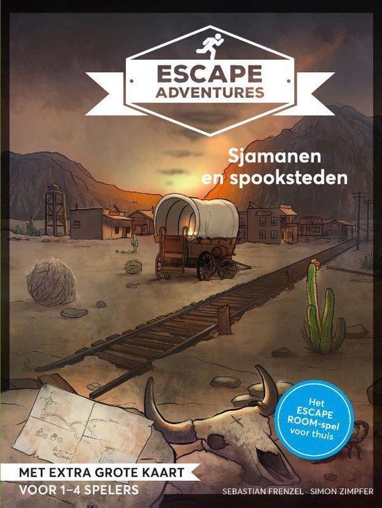 Escape adventures: Sjamanen en spookstadjes - Sebastian Frenzel  