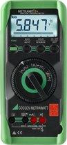 Gossen Metrawatt Metrahit 2+ Multimeter Kalibratie Dakks Digitaal Cat Iii 600 V Weergave (Counts): 6000