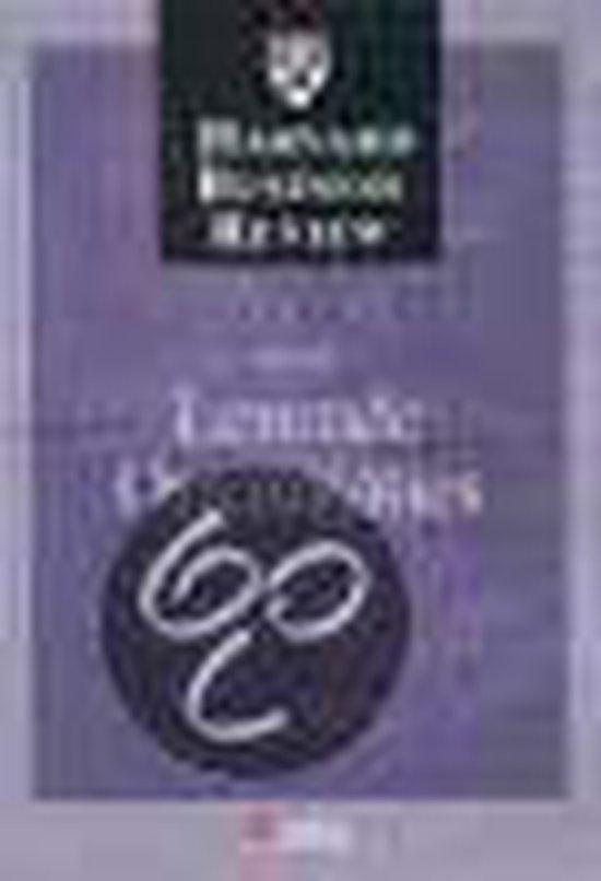 Cover van het boek 'Harvard business review lerende organisa'