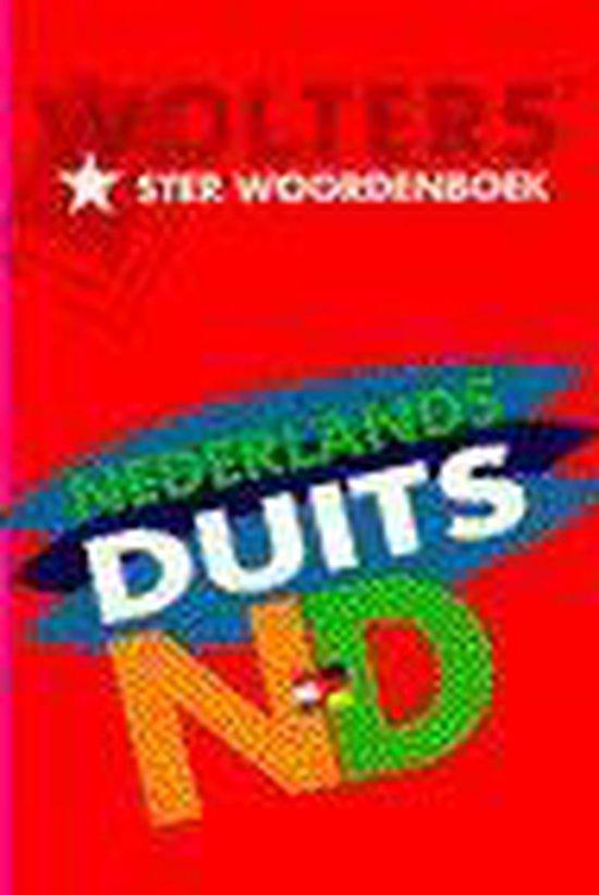 Wolters' Sterwoordenboeken Wolters' ster woordenboek Nederlands-Duits in de nieuwe spelling - none |