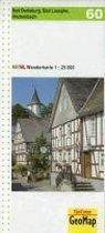 Wanderkarte 60 Bad Berleburg, Bad Laasphe, Hilchenbach 1 : 25 0000