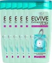 L'Oréal Paris Elvive Extraordinary Clay Shampoo 6 x 250 ml - Normaal Tot Vet Haar - Voordeelverpakking