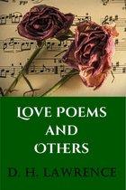 Boek cover Love Poems van D. H. Lawrence
