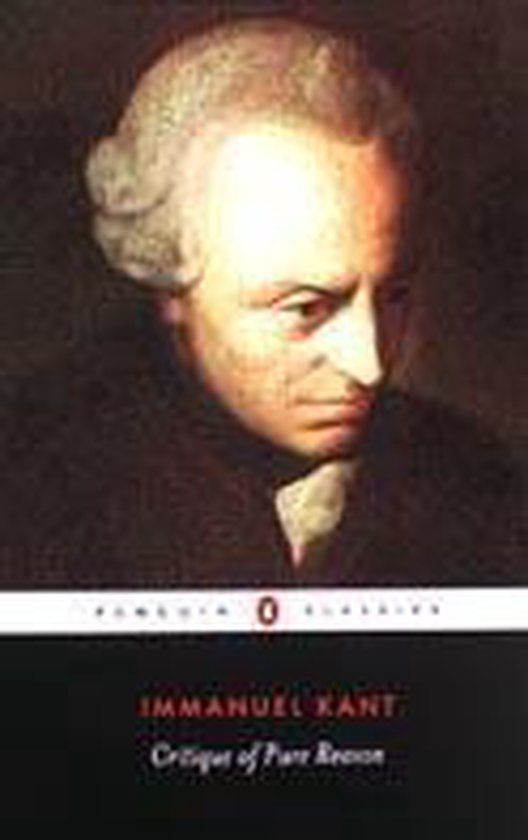 Boek cover Critique of Pure Reason van Immanuel Kant (Paperback)