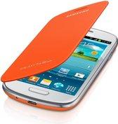Samsung Flip Cover voor de Samsung Galaxy S3 Mini - Oranje