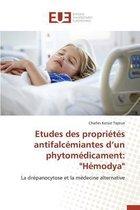 Etudes Des Propri t s Antifalc miantes D Un Phytom dicament