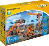Twickto bouwset - speelvoertuig - De bouw - 134 delig - oranje en grijs