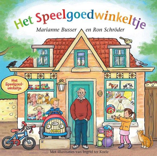 Boek cover De Winkeltjes - Het speelgoedwinkeltje van Marianne Busser (Onbekend)