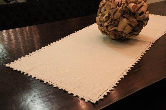 Katoenen Tafelloper 50x180 cm - Naturel