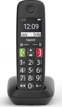Gigaset E290E - Single Senioren DECT telefoon - Zwart