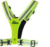 Rogelli - Reflectie Led Vest - Neon Yellow - One Size