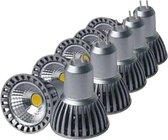 COB LED-lamp GU5.3 / MR16 12V 4W 50 ° (10 Pack) - Wit licht