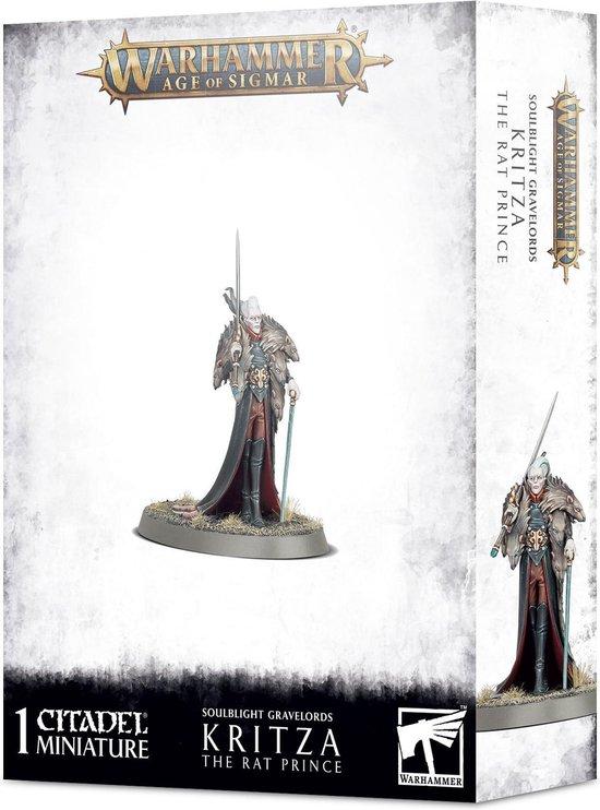 Afbeelding van het spel Soulblight Gravelords Kritza the Rat Prince