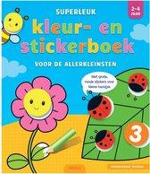 kleur- en stickerboek voor de allerkleinsten (2-4 jaar)