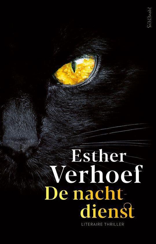 Boek cover De nachtdienst van Esther Verhoef (Onbekend)