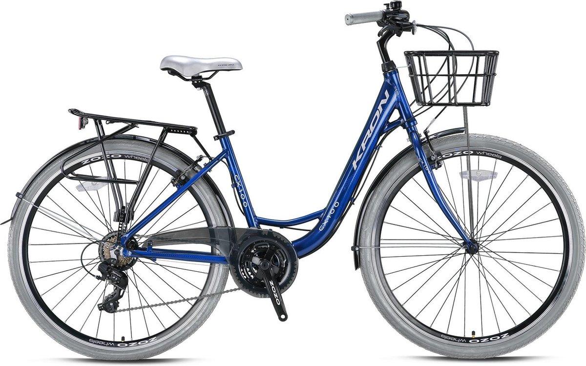 Shimano CX 100 HYBRIDE LADY  26 INCH H43 > 7 SPEED DARK BLUE GREY online kopen