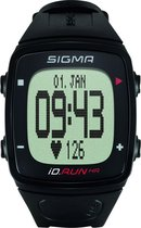 Sigma ID Run HR - GPS Sporthorloge met Polshartslagmeting - Zwart