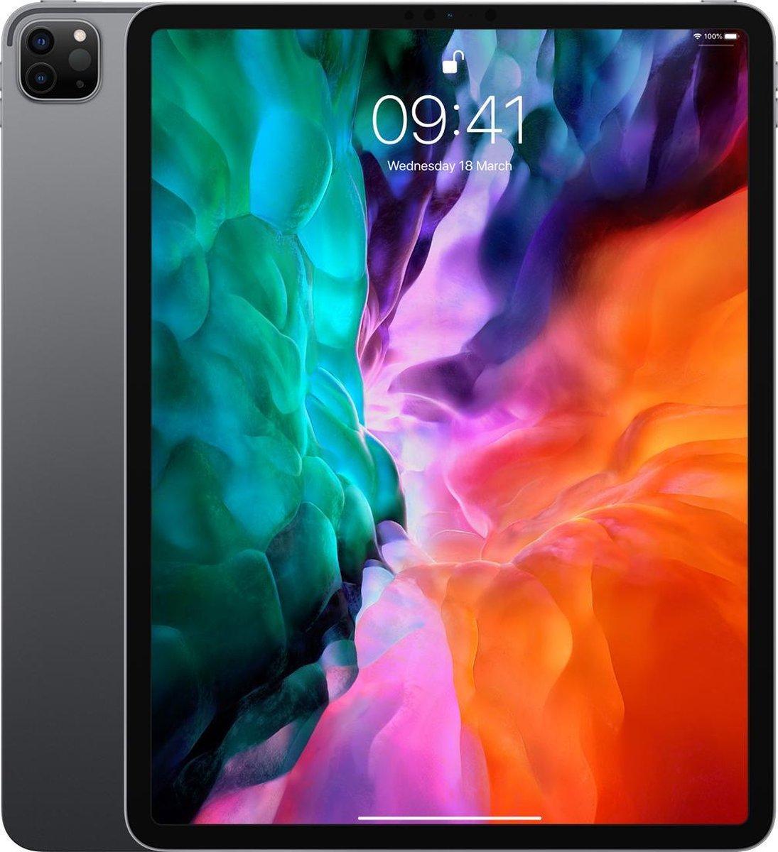 Apple iPad Pro 12.9 2018   – 12.9 inch – WiFi + 4G – 64 GB – Zilver – A Grade (zo goed als nieuw)
