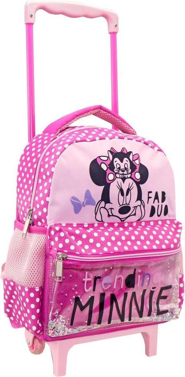 Disney Trolley Rugzak Minnie Mouse 31 X 27 Cm Polyester Roze
