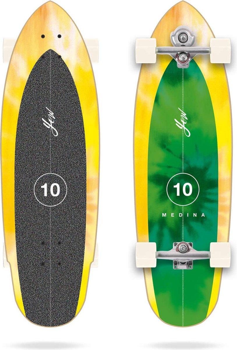 YOW Medina Tie Dye surfskate 33