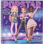 TOPModel Dress Me Up stickerboek POPSTAR