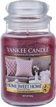 Yankee Candle Large Jar Geurkaars - Home Sweet Home