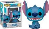 Smiling Seated Stitch - Funko Pop! Disney - Lilo & Stitch