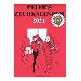 Peter's Zeurkalender 2021 - Scheurkalender - Peter van Straaten - 17x12cm