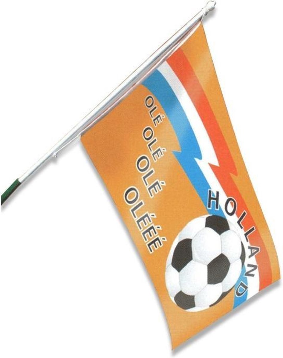 Witbaard Gevelvlag Holland Ol  90 X 150 Cm Polyester Oranje