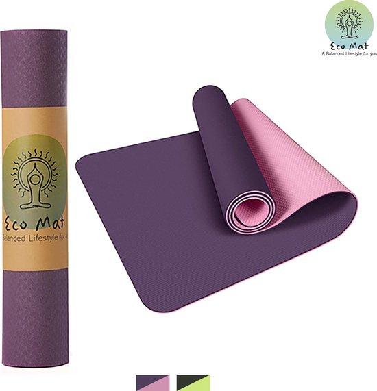 Eco Yoga Mat - Inclusief Draagriem