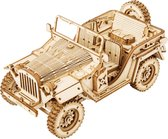Robotime 3D puzzel modelbouw pakket MC701 ARMY JEEP