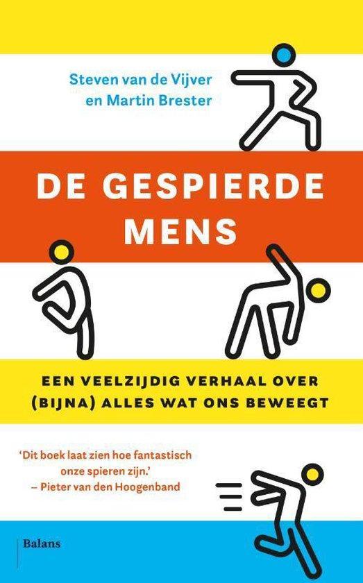 Boek cover De gespierde mens van Steven van de Vijver (Paperback)